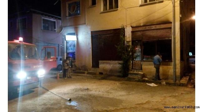 Kastamonu'da bir dükkan kundaklandı