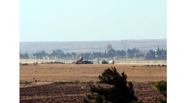 Kilis Çobanbey sınırında hareketlilik