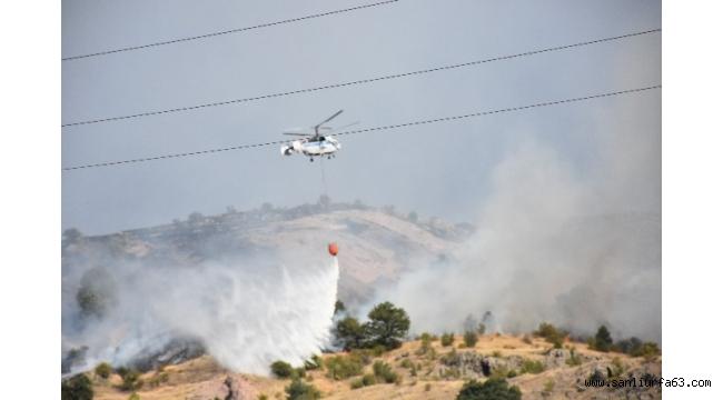 Kızılcahamam'da 2 gün önce başlayan orman yangını kontrol altına alındı