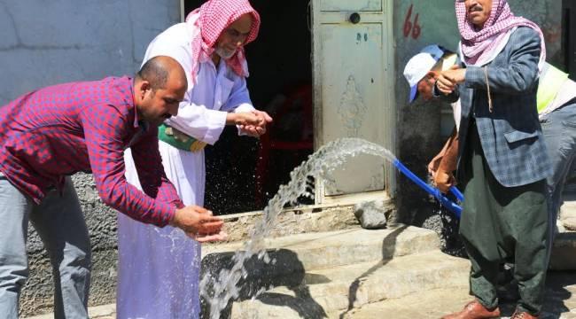 Konuklu mahallesine artık Arıtma suyu akıyor