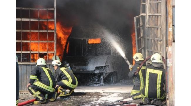 Konya'da 10 numara yangın