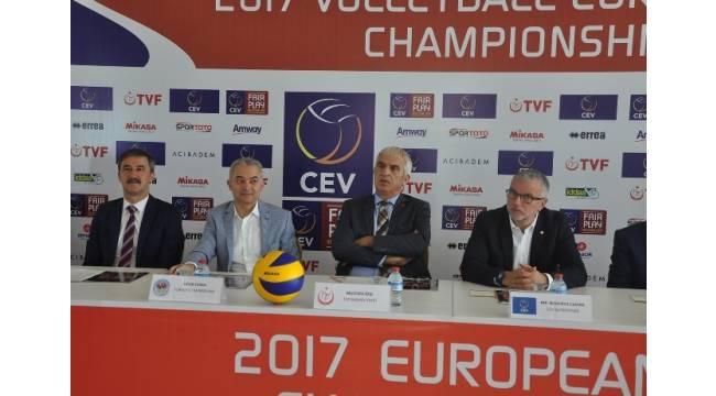 Manisa, Avrupa Voleybol Şampiyonası elemelerine ev sahipliği yapıyor