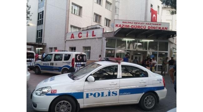 Manisa'da yaralı polis şehit oldu
