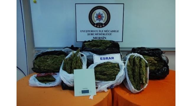 Mersin Narkotim ekipleri, uyuşturucu satıcılarına göz açtırmıyor