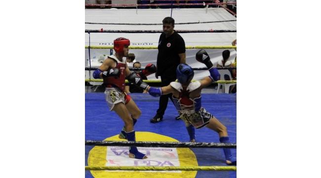 Muay Thai Şampiyonası, şehit Ömer Halisdemir adına düzenlendi