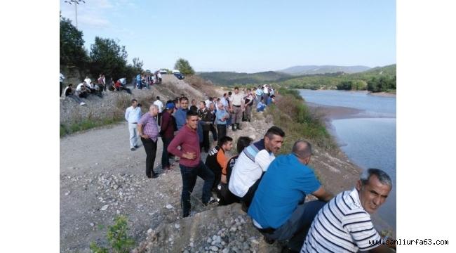 Nehirde kaybolan şahsı arama çalışmalara ara verildi