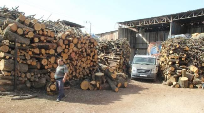 Oduncular sitesinde kış hazırlıkları sürüyor
