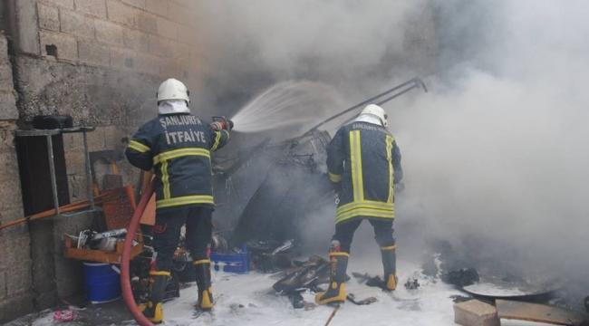 Onikiler Mahallesinde Yangın Çıktı