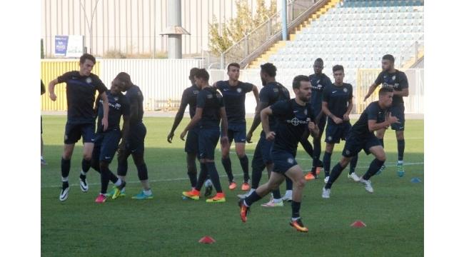 Osmanlıspor, Trabzonspor maçı hazırlıklarını sürdürdü