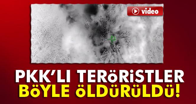 PKK'lı teröristler böyle öldürüldü