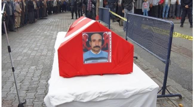 PKK tarafından öldürülen eski korucu için tören düzenlendi