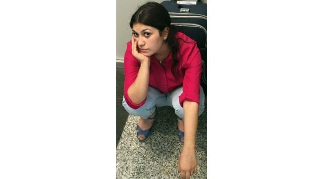 PKK'lı kadın terörist havalimanında yakalandı