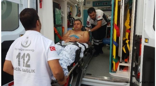 Polis memuru silahlı saldırıda yaralandı