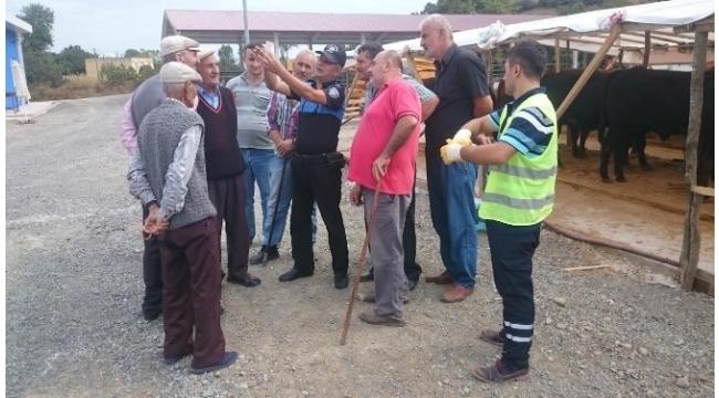Polisten kurban pazarında 'sahte para' eğitimi