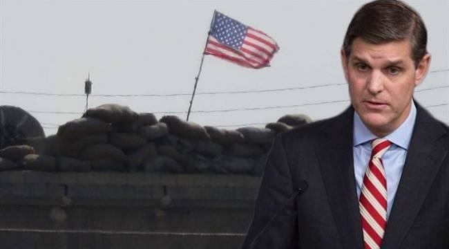 PYD Akçakale karşısına ABD bayrağı astı