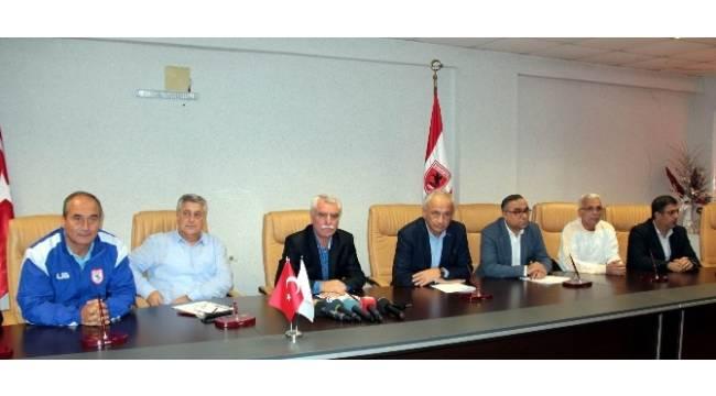 Samsunspor'da sıkıntılar masaya yatırıldı