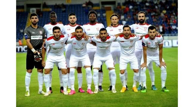 Samsunspor'un gol orucu 7 maça çıktı