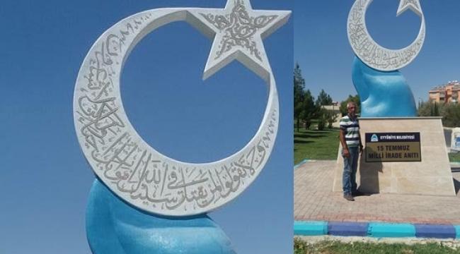 Şanlıurfa'da 15 Temmuz Milli İrade Anıtı dikildi