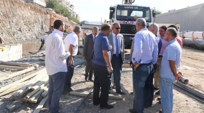 Şanlıurfa'daki büyük projeler tam hız