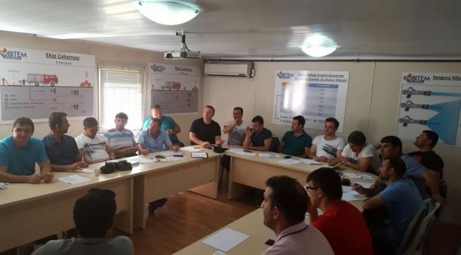 Şanlıurfa'daki İtfayeciler eğitiliyor