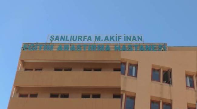 Şanlıurfa Devlet Hastanesinde İntihar