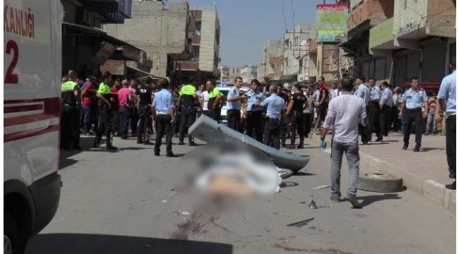 Şanlıurfa'da 1 kişinin öldüğü kaza sonrası ortalık karıştı