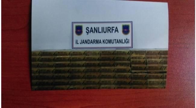 Şanlıurfa'da 10 bin paket kaçak sigara ele geçirildi