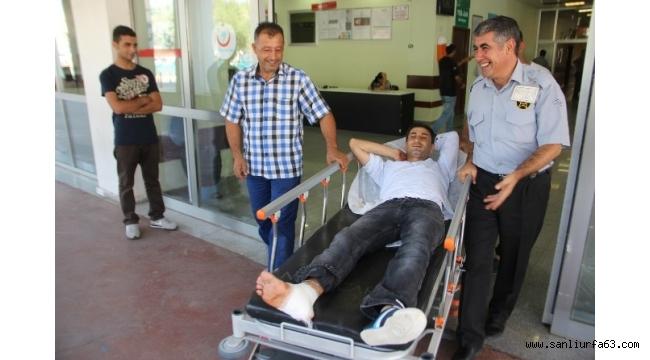 Şanlıurfa'da yaklaşık 100 acemi kasap hastanelik oldu