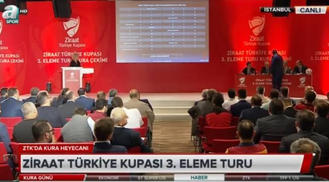 Şanlıurfaspor'un Ziraat Türkiye Kupası 3.Tur rakibi belli oldu