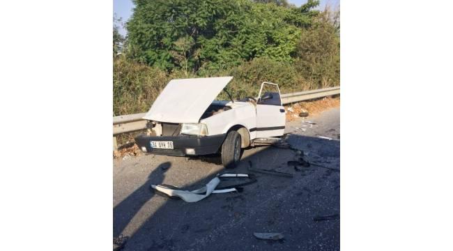 Silivri'de feci kaza: 1 ölü, 2 yaralı