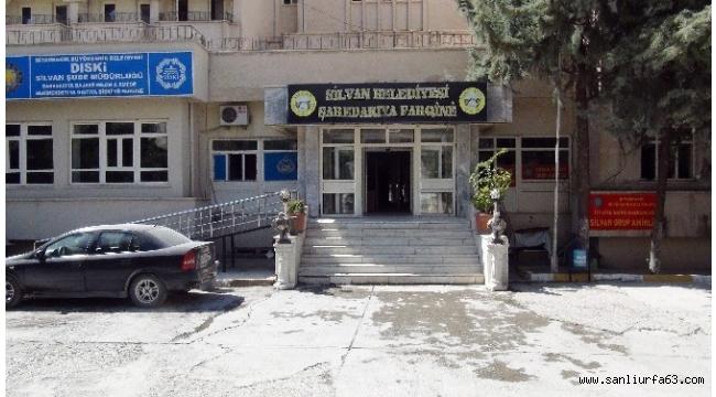 Silvan Belediyesi'nde arama çalışmaları devam ediyor