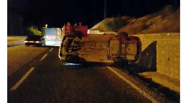 Sivas'ta trafik kazaları: 8 yaralı