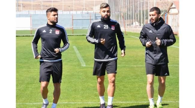 Sivasspor, Büyükşehir Gaziantepspor maçının hazırlıklarını tamamladı
