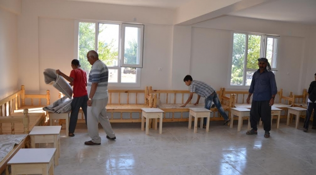 Siverek Gazi'de çok amaçlı hizmet evi hizmete açıldı