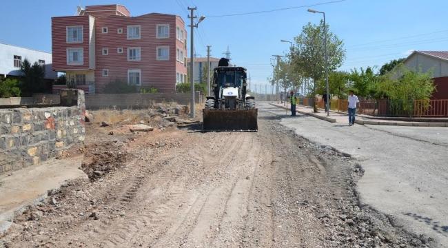 Siverek Yenişehir mahallesinde çalışmalar hızlandı