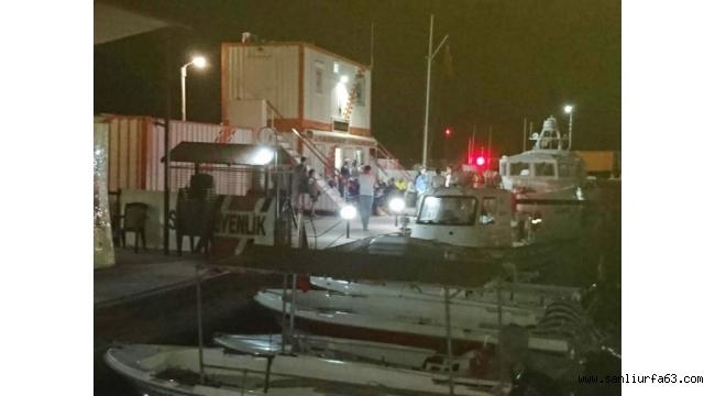 Sürat teknesi kazasında balıkçılar ölümden döndü