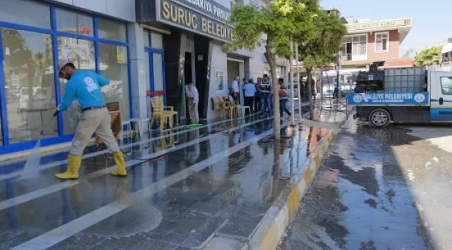 Suruç'a bir destek de Haliliye Belediyesi'nden