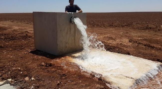 TİGEM Arazilerine İlk Su verildi