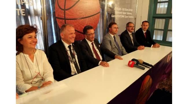 TKBL Federasyon Kupası maçları Balıkesir'de oynanacak