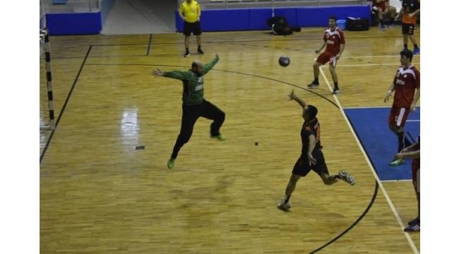 Tokat'ta Hentbol Türkiye Kupası 1. Tur karşılaşması