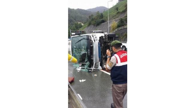 Trabzon'da trafik kazası: 24 yaralı