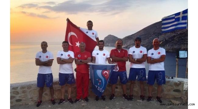 Türkiye'yi su altı zıpkınla temsil ediyorlar