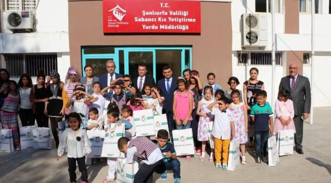 Urfa'da 3 Tane çoçuk evinin 1 Yıllık kirası karşılandı