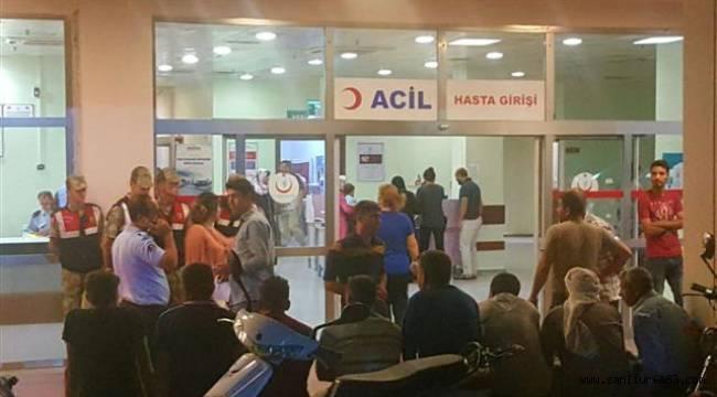 Urfa'da Hastane acilleri doldu taştı