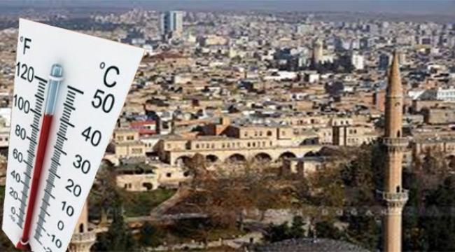 Urfa'da Hava sıcaklığı artacak