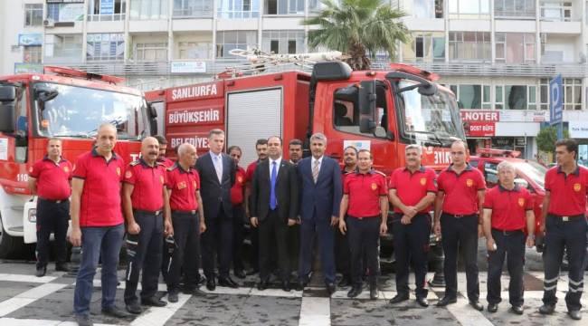 Urfa'da İtfaiye Haftası etkinlikleri başladı