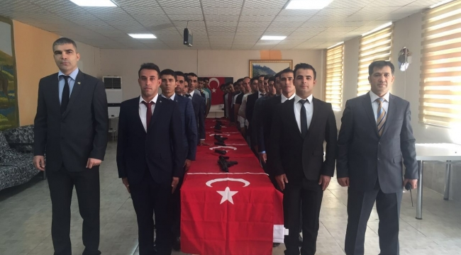 Urfa'da Kurum sınavı ile 34 Bekçi göreve başladı