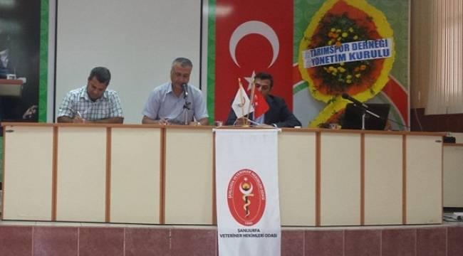 Urfa'daki Veteriner hekimler başkanını seçiyor