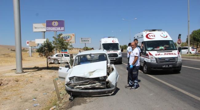 Urfa-Dıyarbakır yolunda Kaza