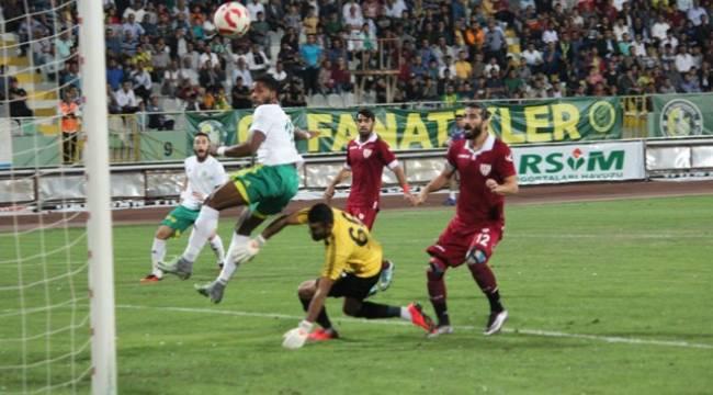 Urfaspor 1 attı, 3 aldı